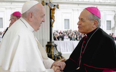 Messaggio Augurale di Papa Francesco per il Giubileo Sacerdotale di S.E. Mons. Vescovo – 2 agosto  1970-2020