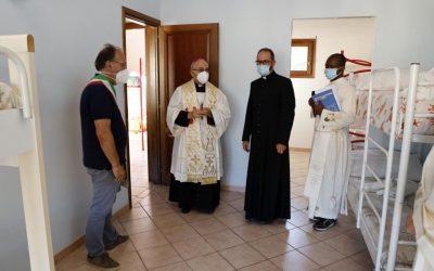 San Teodoro: Dopo la mensa, Inaugurato anche il Dormitorio Caritas