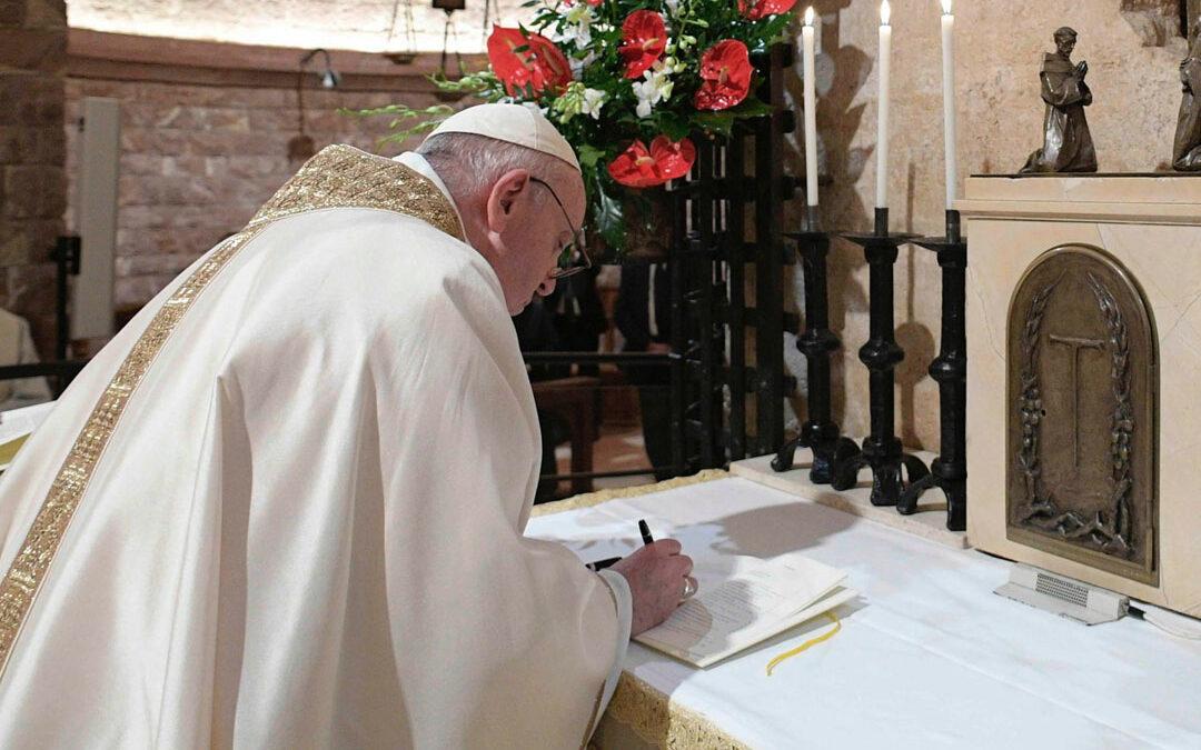 """Nuova Enciclica del Papa: """"Fratelli tutti"""""""