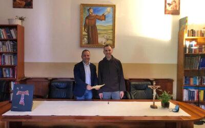 """Protocollo d'intesa tra l'Istituto """"Amsicora"""" e la Comunità Diocesana """"La Porziuncola"""""""